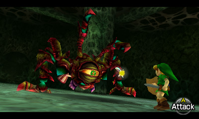 Ocarina of Time 3DS Queen Gohma